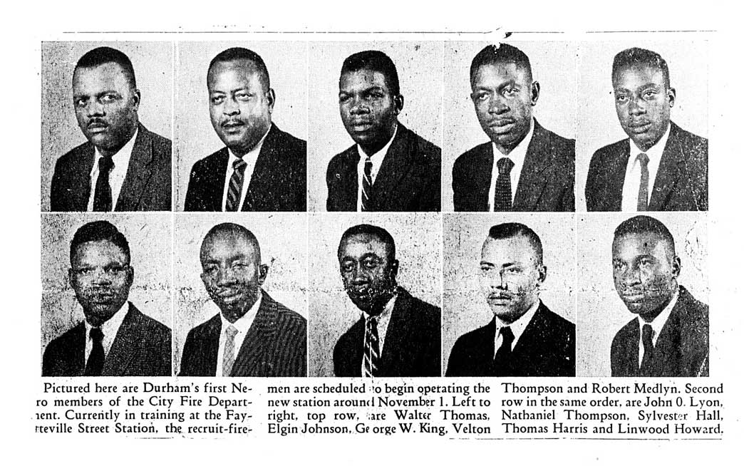 A clipping from the local paper from 1958.