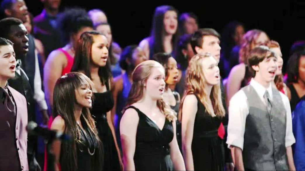 Durham high school students perform at the DPAC in 2012. Photo Courtesy of The Round Table