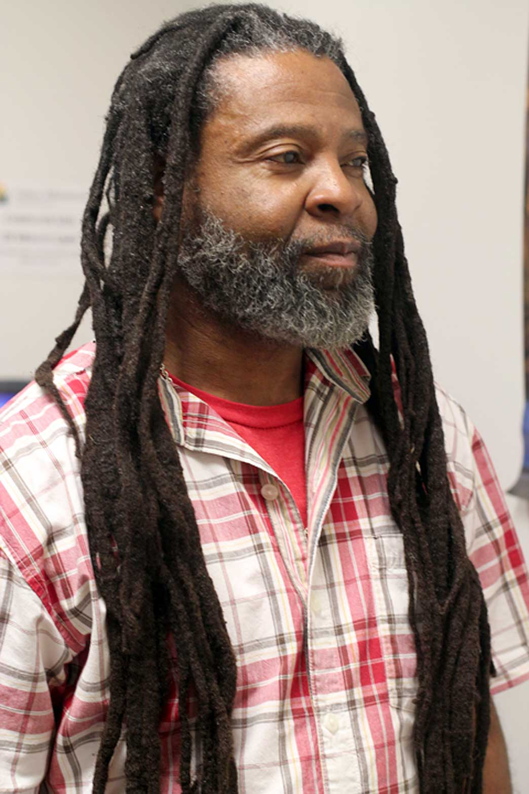 Malcolm Clemens has battled addiction since the 1980s. He graduates from the Urban Ministries Recovery Program in May. Photo by Alex Sampson