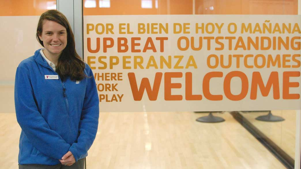 Allie Boulton, assistant program director at the Lakewood YMCA, is helping lead a new Spanish-speaking advisory committee that aims to focus on reaching out to the growing Hispanic population in the area.